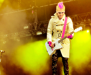 30 seconds to mars, 30stm, and color image