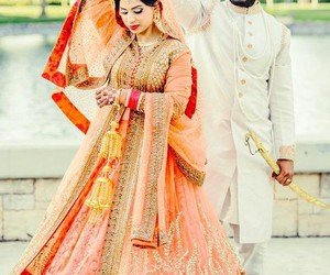 orange, love, and punjabi image