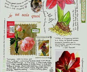 art, handwriting, and journal image