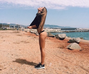 abs, girl, and ass image