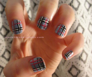 black, nail art, and cute image