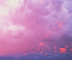pink, purple, and clouds image