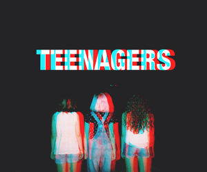 teenagers and grunge image