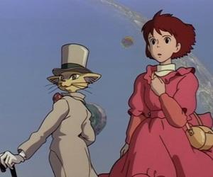 anime, studio ghibli, and the cat returns image