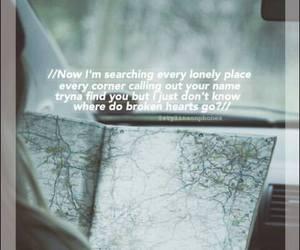 Lyrics, music, and where do broken hearts go image