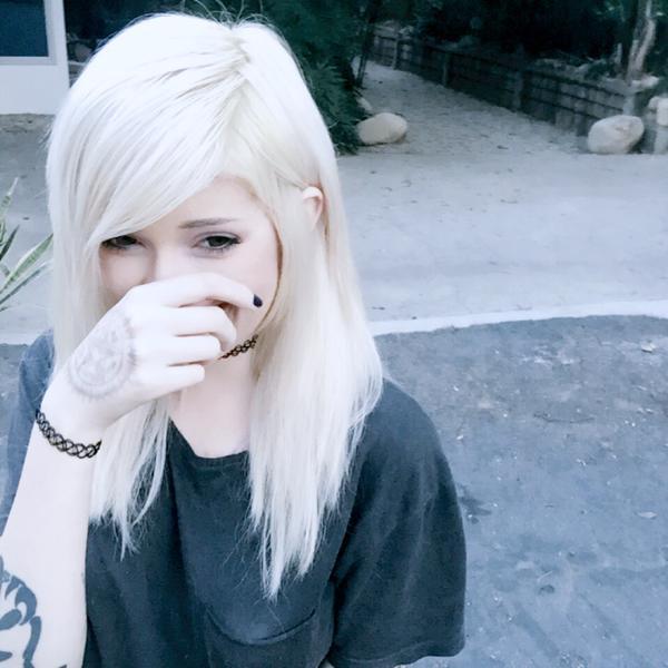 White Hair Girl Tumblr