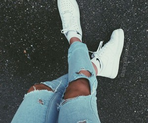 style, shoes, and white image