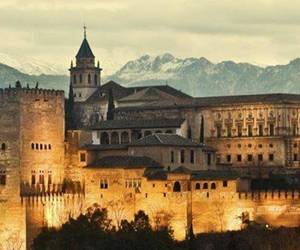 spain, castle, and europe image