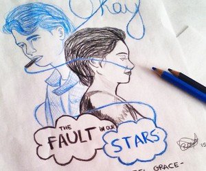the fault in our stars, hazel grace, and love image