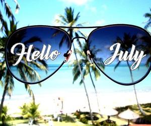 july, sea, and summer image