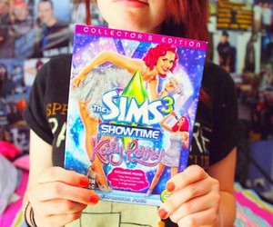 sims, game, and katy perry image