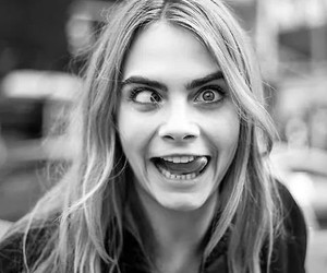 cara delevingne, model, and crazy image
