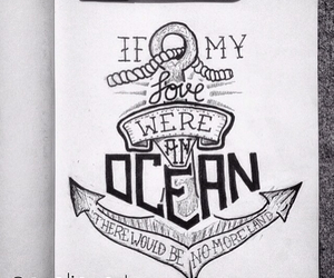 ocean and love image