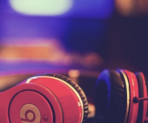 music, beats, and pink image