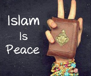 islam, peace, and quran image