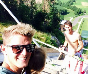 austria, training, and ski jumping image