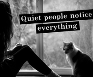 quotes, quiet, and people image