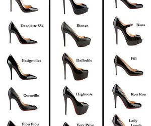 shoes, heels, and louboutin image