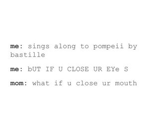 bastille, funny, and music image