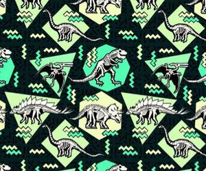 wallpaper and dinosaur image