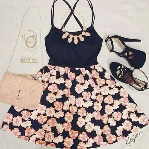 fashion, outfits, and cute clothing image