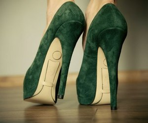 heels, shoes, and colors image