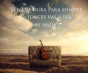 frase, guitarra., and paisaje image
