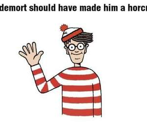 voldemort, harry potter, and Waldo image
