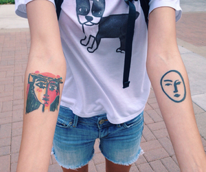 tattoo, art, and tumblr image
