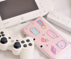 game, pink, and kawaii image
