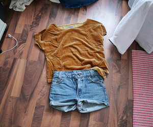 awesome, blogger, and denim shorts image