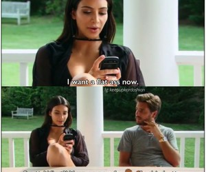 funny, kim kardashian, and reality show image