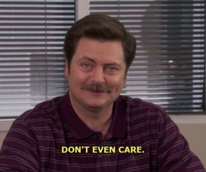 quotes, funny, and ron swanson image