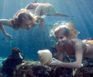 mermaid and sea image