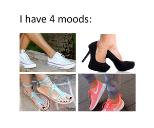 always, shoes, and girl image