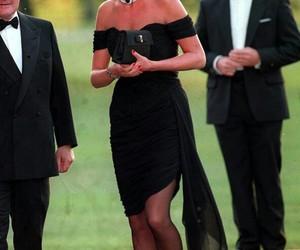 black dress, elegant, and idol image
