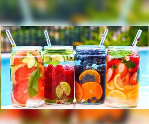 fruit, summer, and drink image