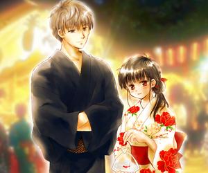 game, hitoshi, and mikoto image