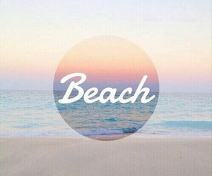 background, ocean, and beach image