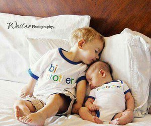 baby, brothers, and cute image