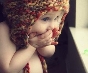 baby, cute, and hat image