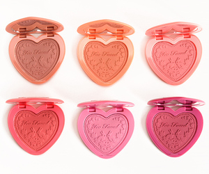 blush, too faced, and makeup image