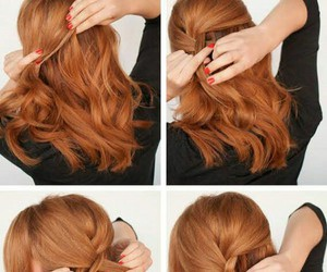 cool, hairstyle, and she image