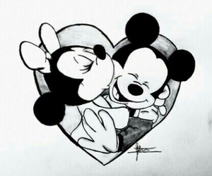 mickey, minnie, and cute image