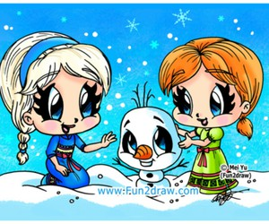 frozen drawing image