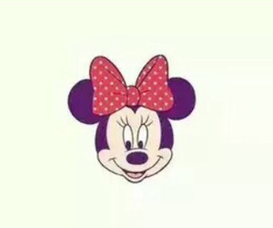 beautiful, minnie, and red image