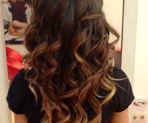 hair, ombre, and tumblr image