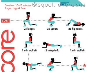 fitness, workout, and core workout image