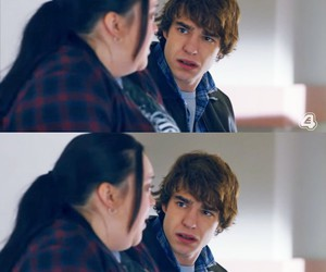 tv show, nico mirallegro, and my mad fat diary image