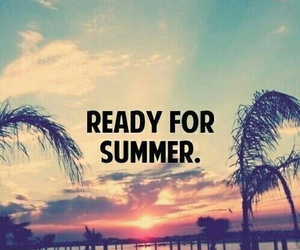 summer, ready, and beach image